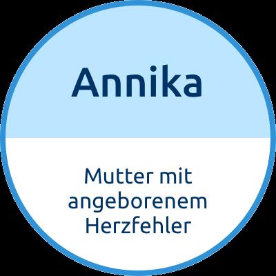 Annika Mutter mit angeborenem Herzfehler